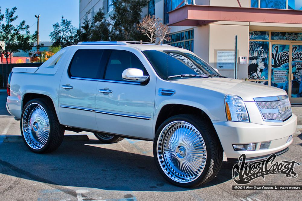Donked out Escalade | Sweet Rides | Pinterest | Cadillac ...