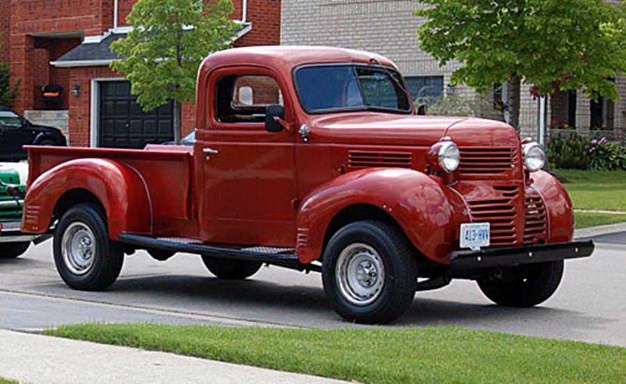 Mopars Trucks 1930s Through 1940s Old Dodge Trucks Trucks Dodge Pickup