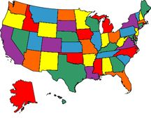 Visited States Map: Use this free mapping tool to display ...