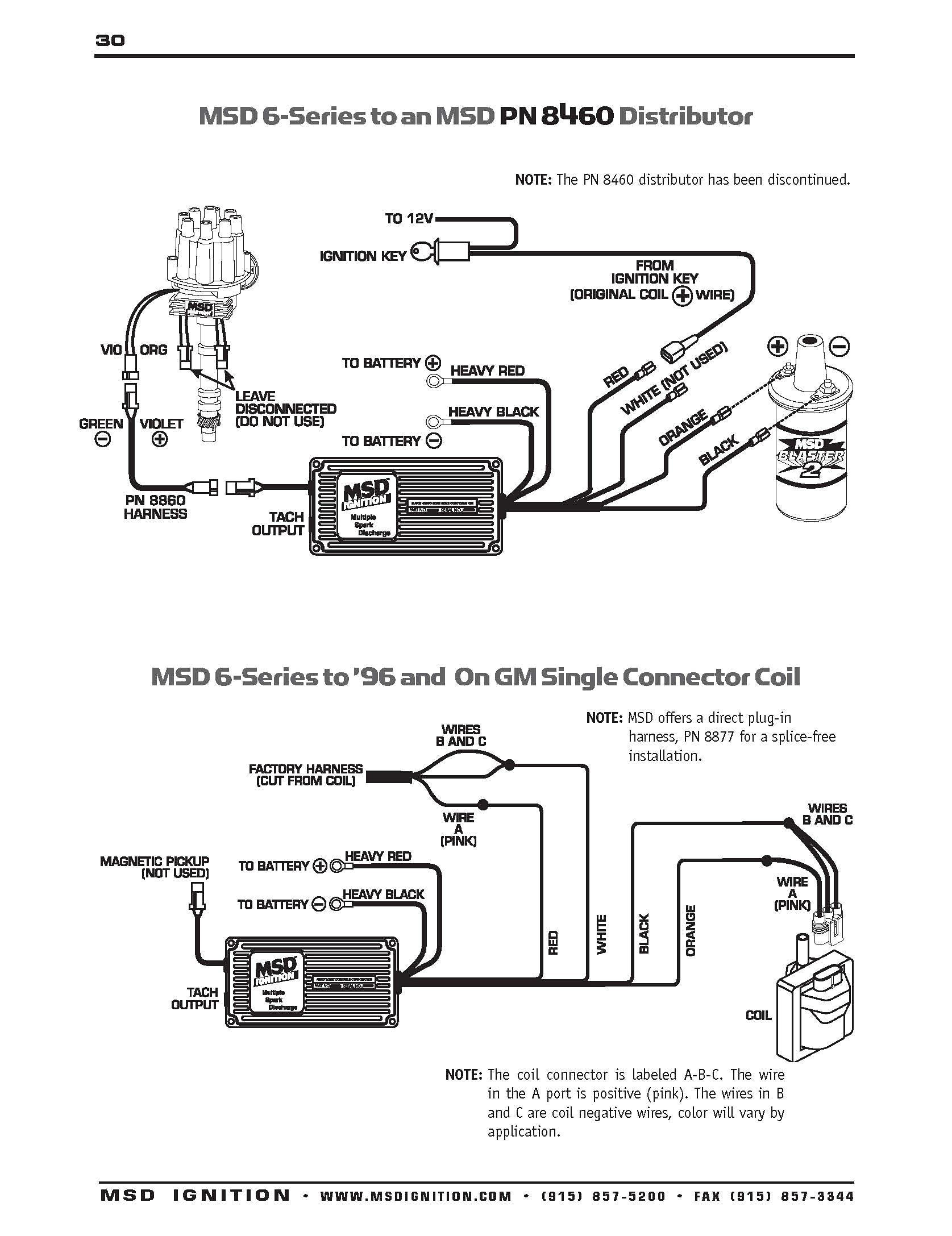 Hei Wiring Diagram Earch For Accel Distributor Hd Dump In Accel Distributor Wiring Diagram 6390 Ignition Coil Msd Diagram