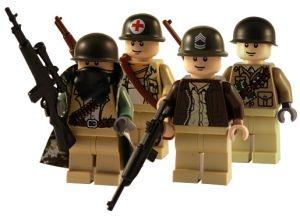 6pcs Custom Helmet /& Gas Mask WW2 Military Accesories Lot for LEGO Minifigures!