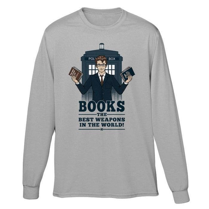 The Best Weapons in the World - Long Sleeve T-Shirt (Unisex)