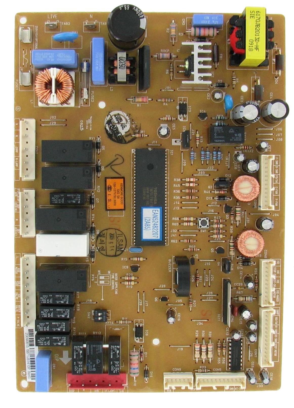 Lg 6871jb1410p refrigeration electronic control board