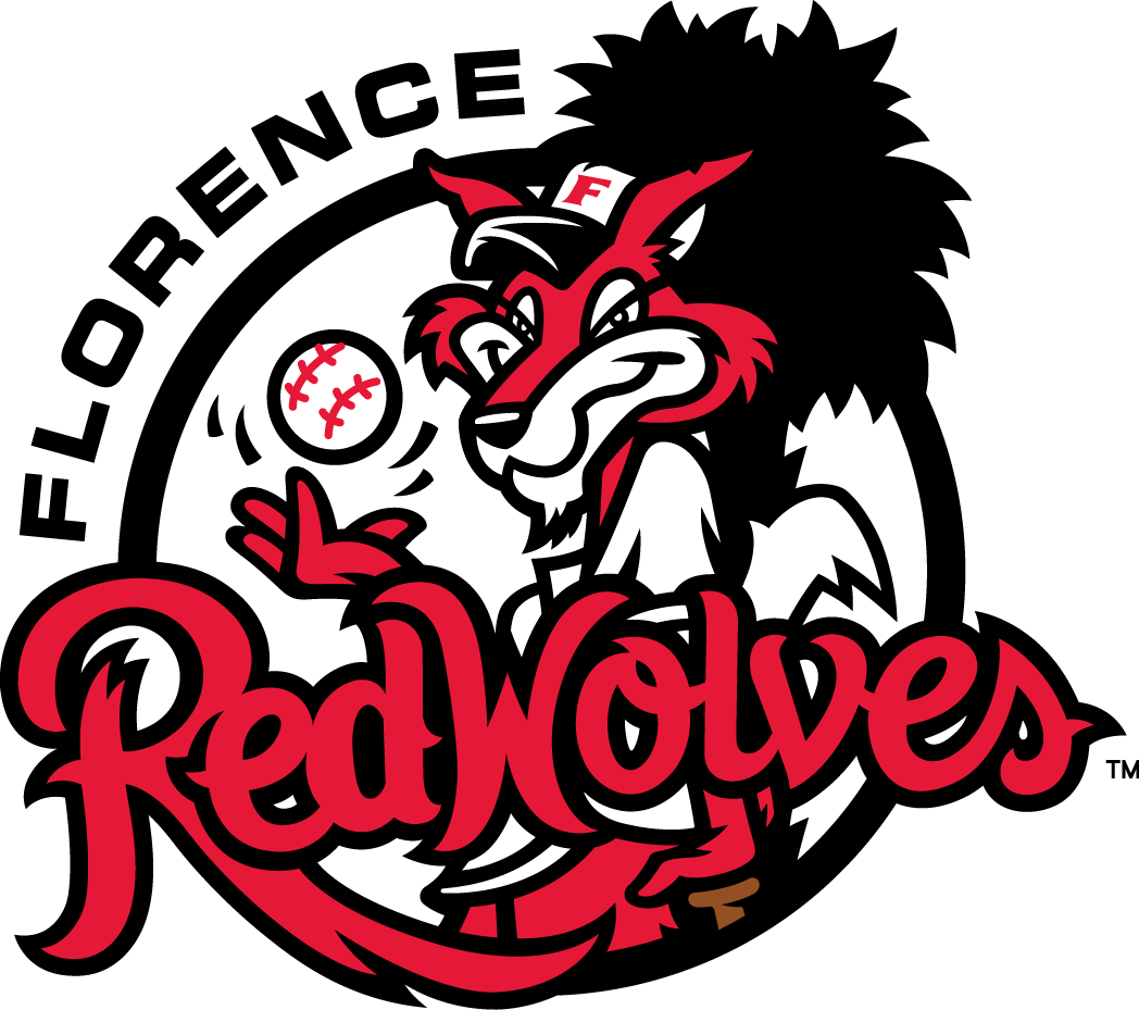 Florence Red Wolves Primary Logo (2015) Sports