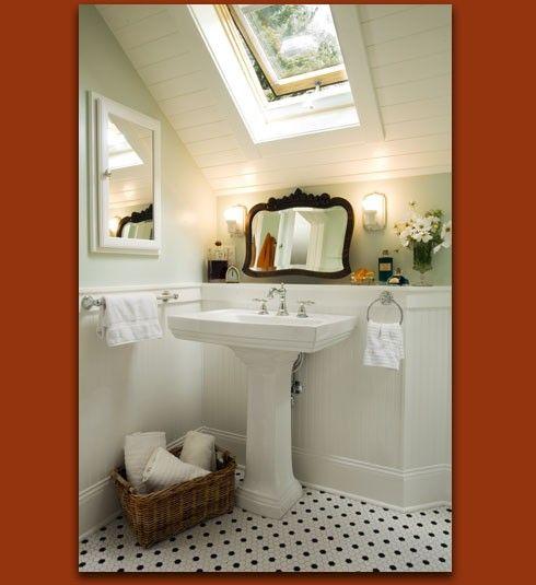 Houzz Com Bathroom: Nish In An Attic Bath (houzz.com