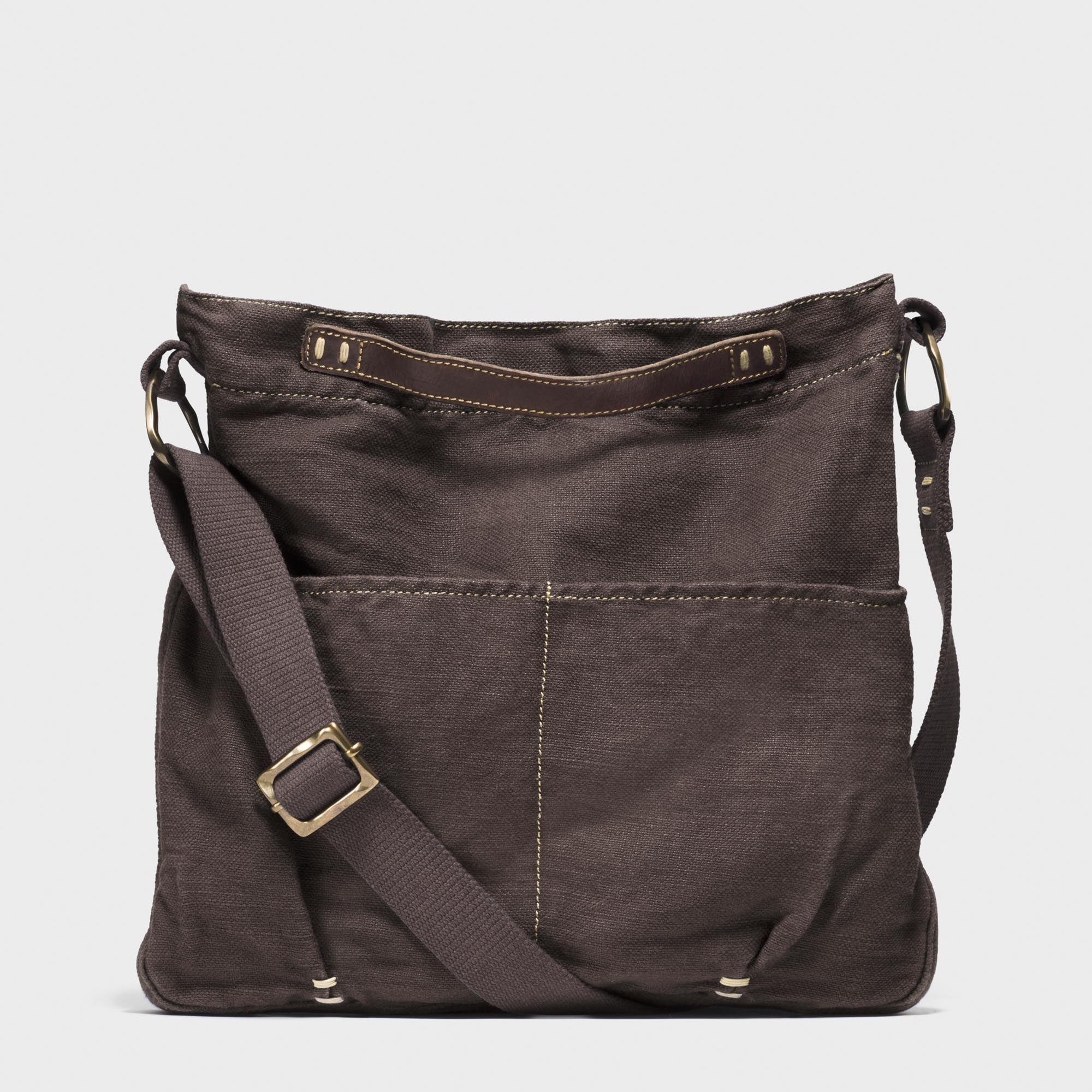 Novica Leather handbag, Sands of Ica - Brown Leather Sling Handbag