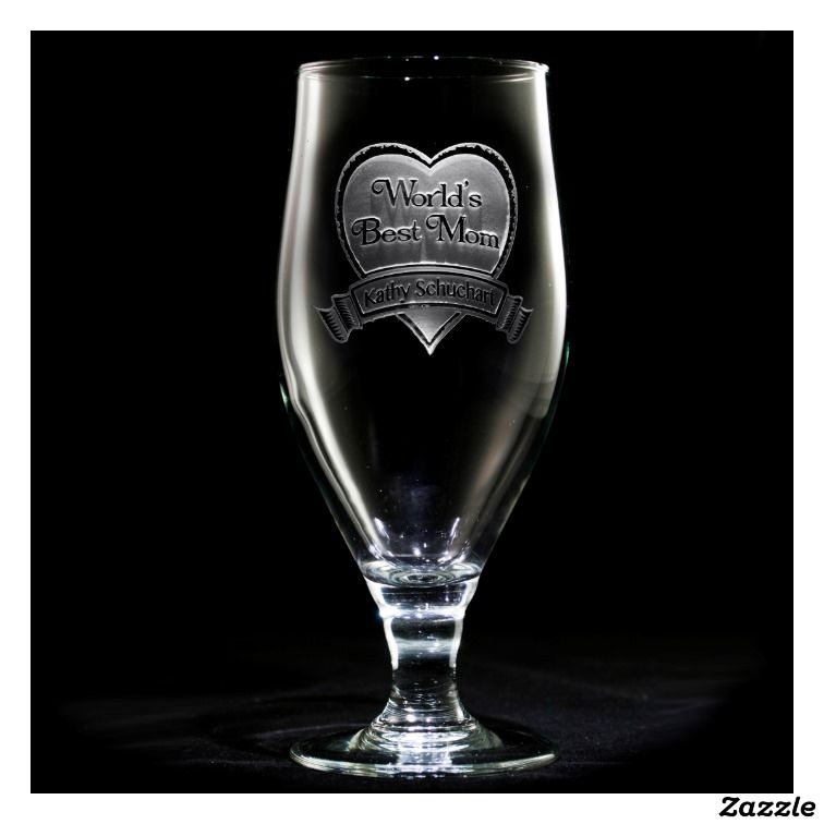 Best Mom Personalized Goblet
