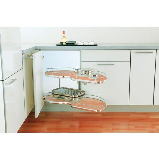 corner cabinet solution #kitchensource #pinterest # ...