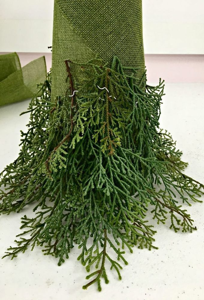 Photo of DIY Christmas tree topiary – UPCYCLING IDEAS