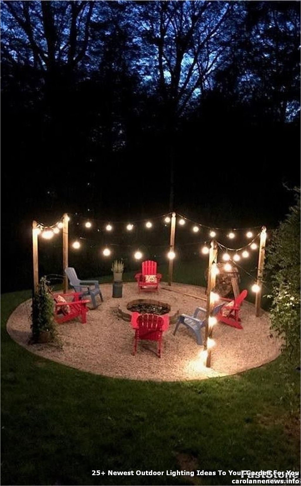 25 Newest Outdoor Lighting Ideas To Your Garden For You Page 14 Best Home Decor Ideas In 2020 Backyard Makeover Backyard Fire Backyard