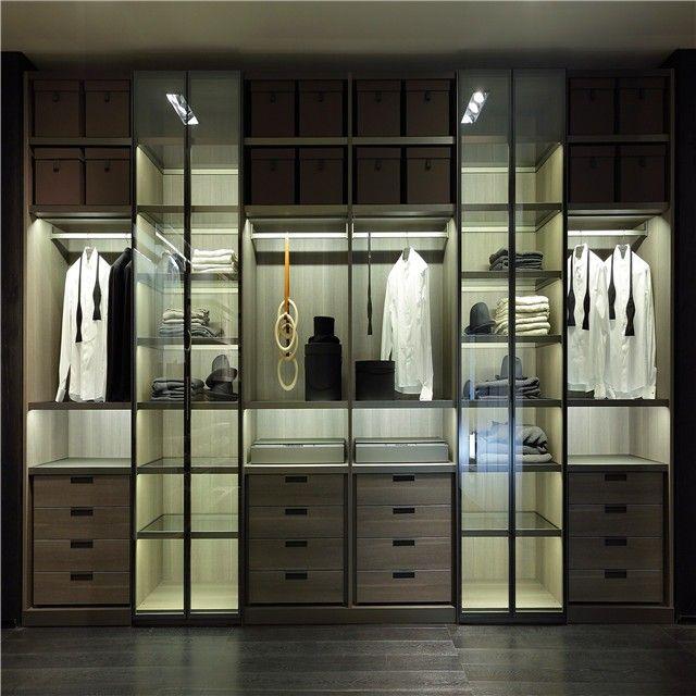 Source Trlife Cloakroom Clothing Closet Glass Door