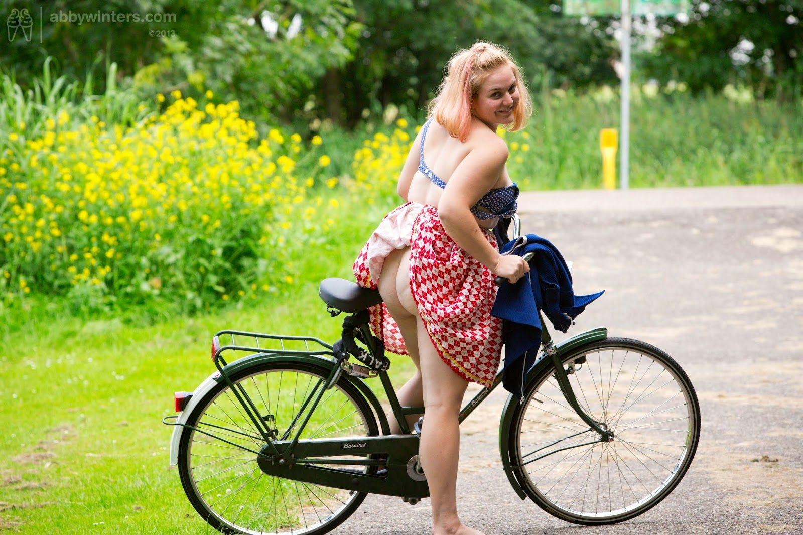 Abby winters bike ride
