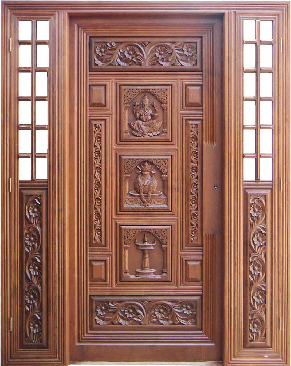 Teak Wood Main Door Designs In 2020 Wooden Door Design Door Design Wood Wooden Main Door Design