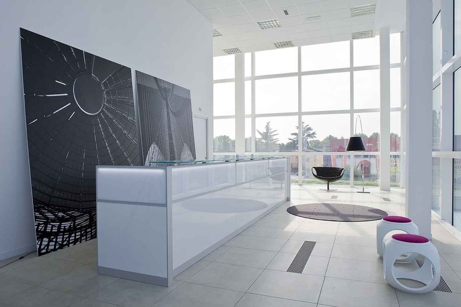 reception desk office furniture USA ideas Paed clinic bits and