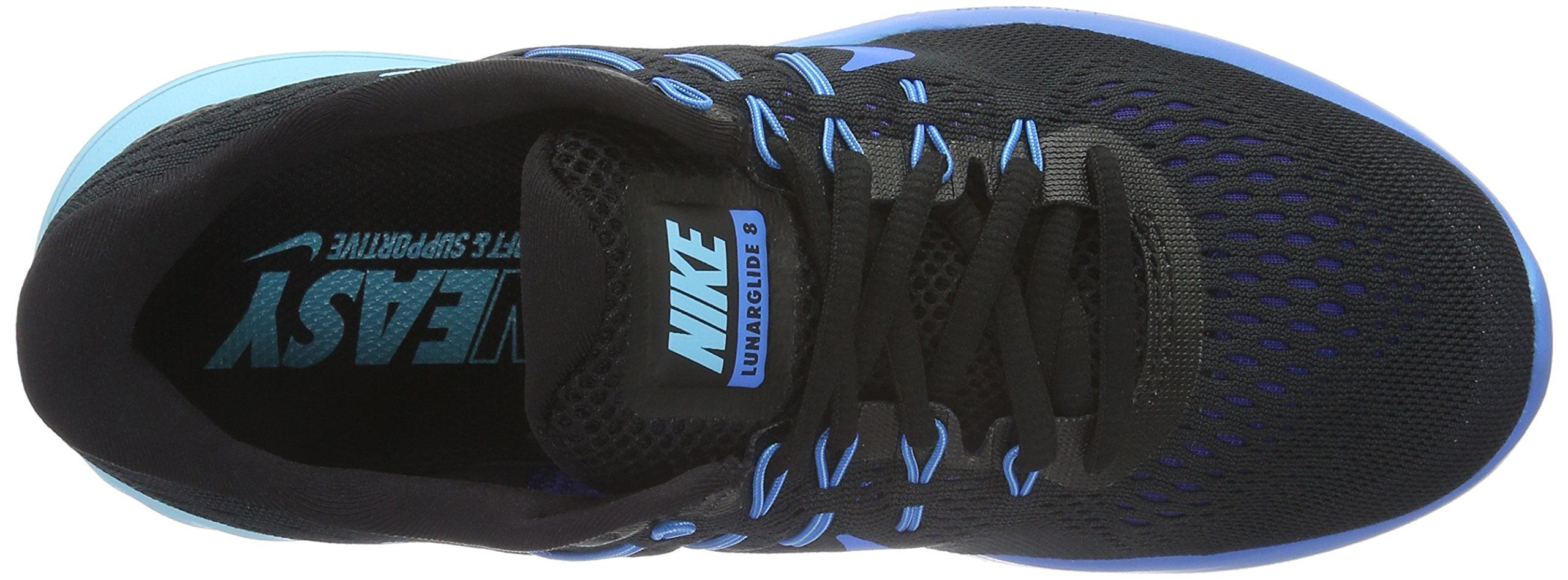c69e5abbb Nike Womens LunarGlide 8 OC Running Shoe Black Multi Color Deep Royal Blue  7 BM US   You can get additional details at the image link.