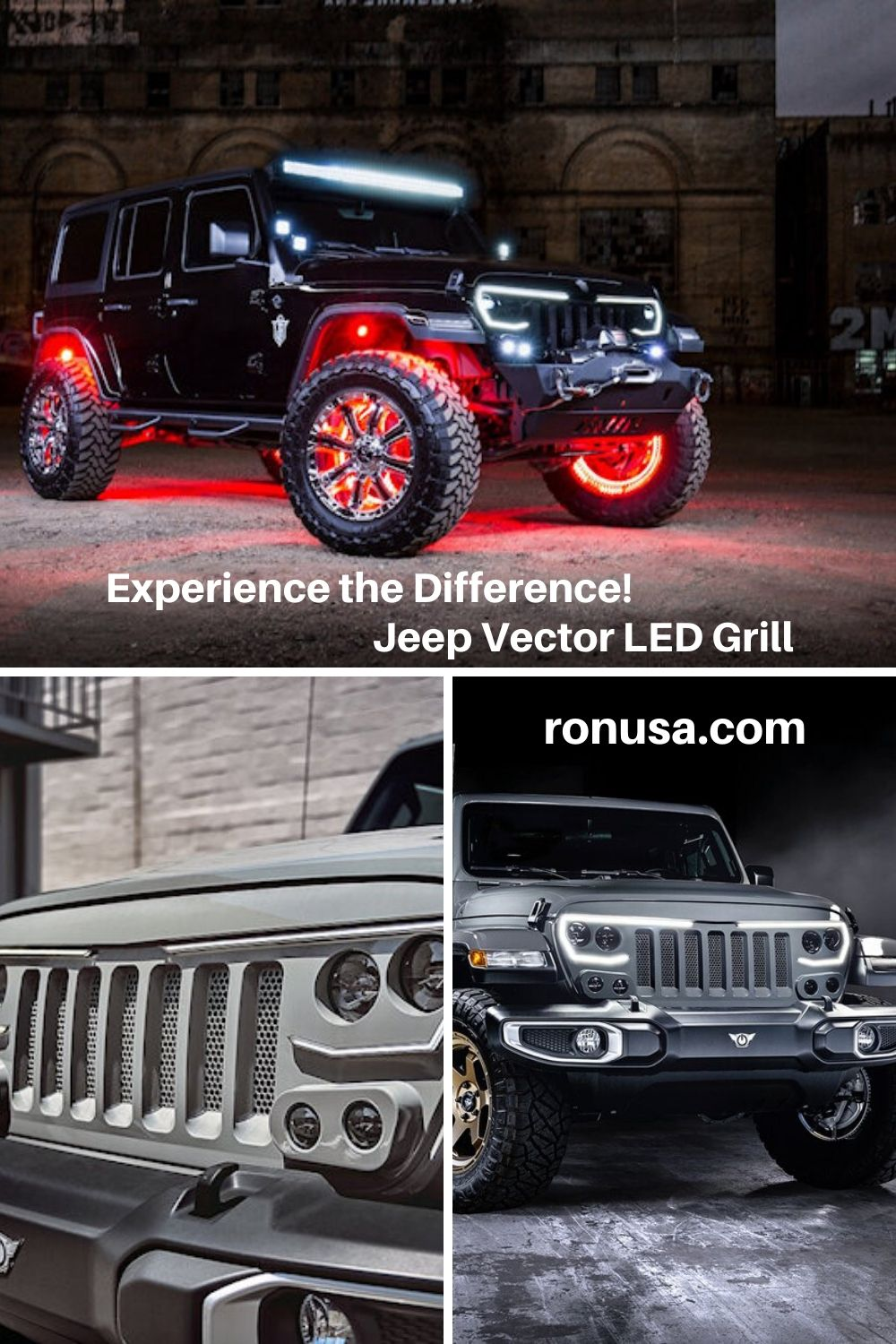 Experience The Jeep Vector Grill Difference In 2020 Jeep Grill Jeep Jeep Owners