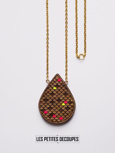 Les Petites Decoupes sautoir graphique udo les petites découpes   adornments   pinterest