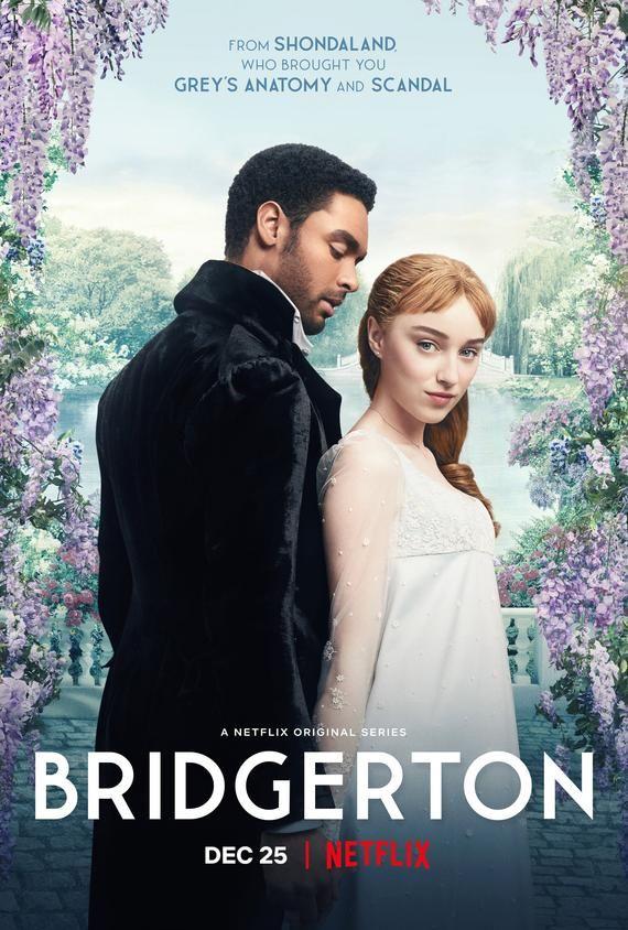 Bridgerton Movie Poster Quality Glossy Print Photo Wall Art Phoebe Dynevor, Regé-Jean Page Netflix S