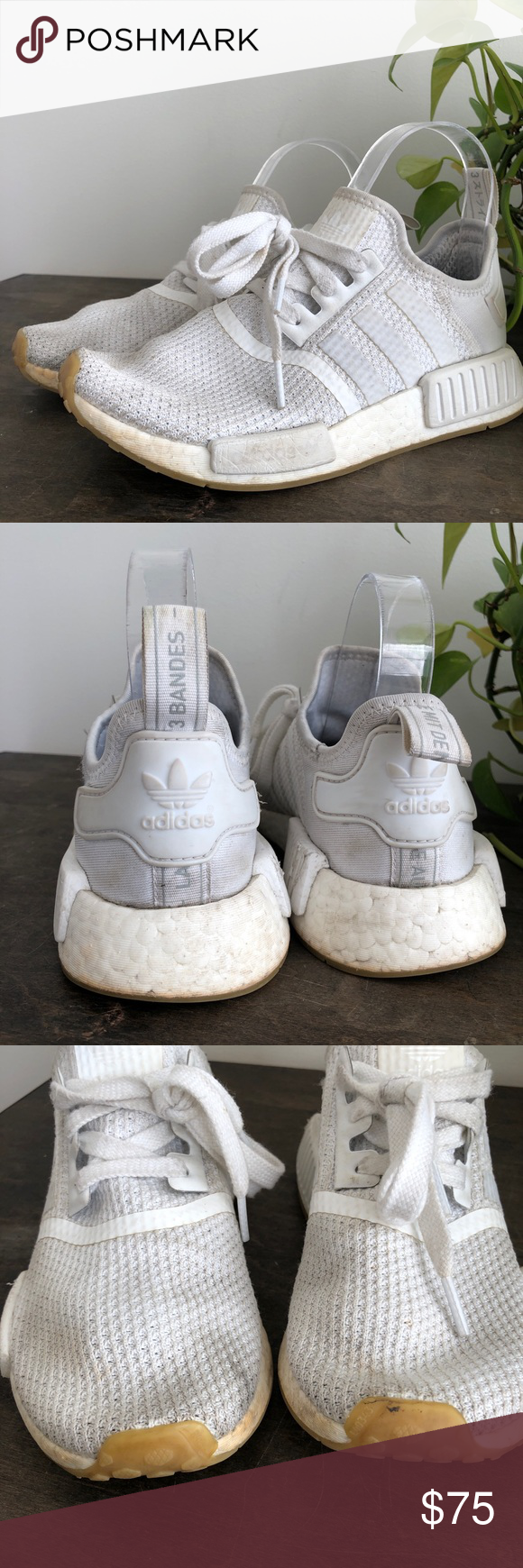 c9b873a2013b3 Adidas Ultra Boost J 3.0 Triple White 4.5 Youth Adidas Ultra Boost J 3.0 Triple  White Size 4.5 Youth Kid s Boys Running BB3047. Condition is preowned.