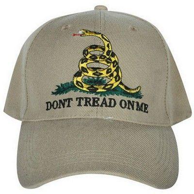 572e4e796a5 Desert Sand Don t Tread On Me Baseball Cap
