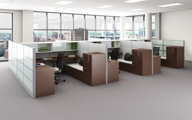 innovative office furniture ideas: 5 types of office partition