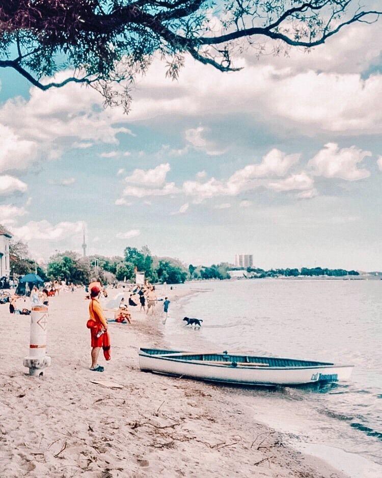 Activité Toronto plage Sunnyside Beach en 2020 Plage