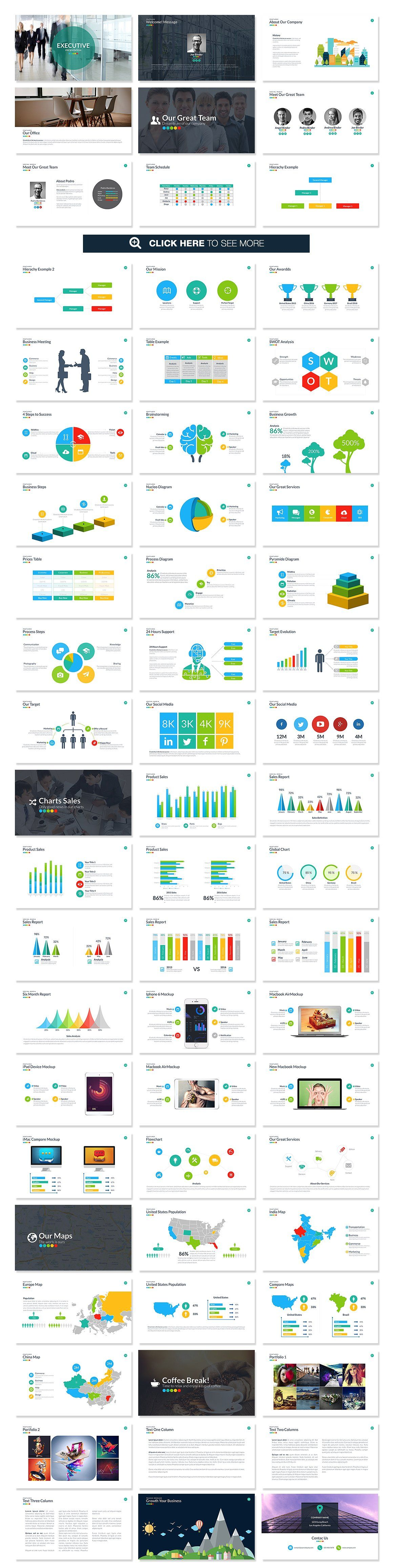 Executive powerpoint template templates executive powerpoint template alramifo Gallery