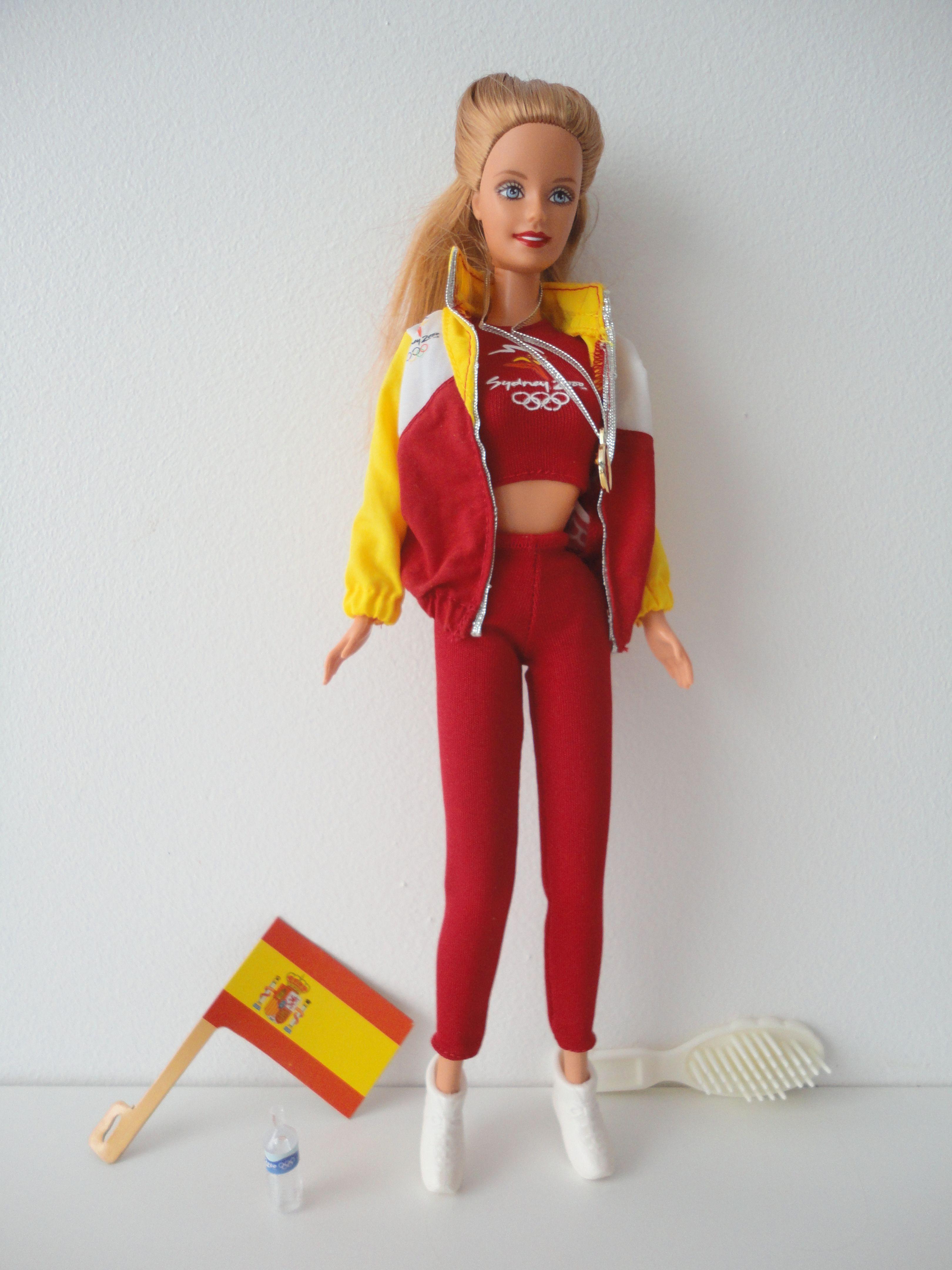 Barbie Olympic Sydney 2000 Spain BD1999 25979 in 2020