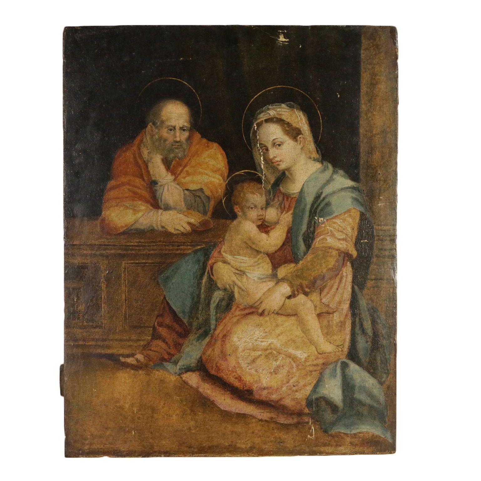 Photo of Copy from Andrea Del Sarto Holy Family Barberini 17th Century
