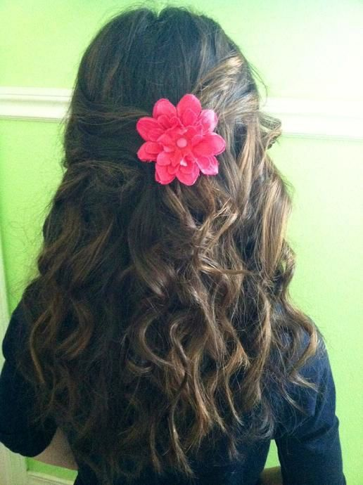 Marvelous Long Hairstyles Easy Curly Hairstyles And Little Girls On Pinterest Short Hairstyles Gunalazisus