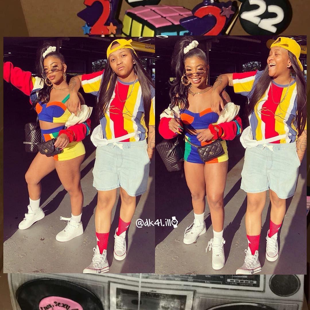 All Positive Vibess Dearra Domowilsonmusic Domo Crissy 15 Birthday Ogd22 Bestfriendgoals 90s Theme Party Outfit 90s Party Outfit 16th Birthday Outfit