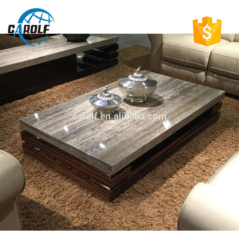 Luxury Furniture Design Modern Coffee Table With Natural Marble