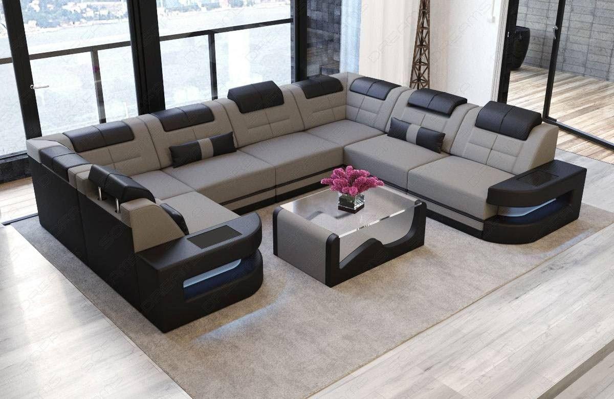 Premium Fabric Sofa Denver U With Images Corner Sofa Interior
