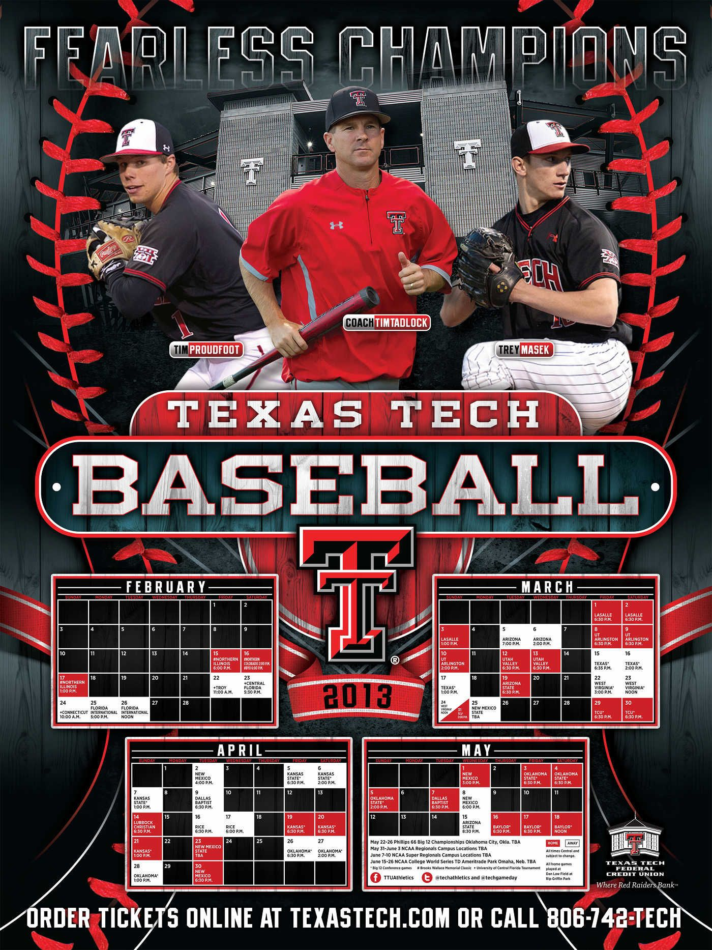 Poster Of The Day Texas Tech College Baseball Daily Texas Tech Texas Tech Baseball College Baseball