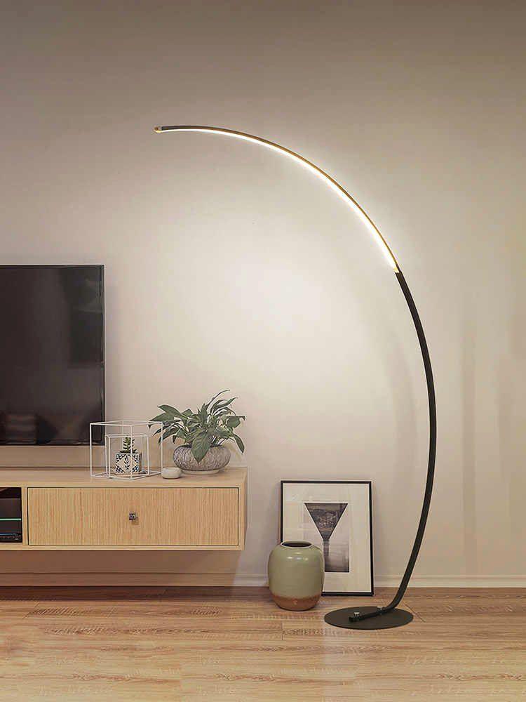 Modern Lamp For Living Room New Nordic Floor Lamp Living Room Bedroom Study Fishing Floor Lamp Simp In 2020 Floor Lamps Living Room Lamps Living Room Simple Floor Lamp
