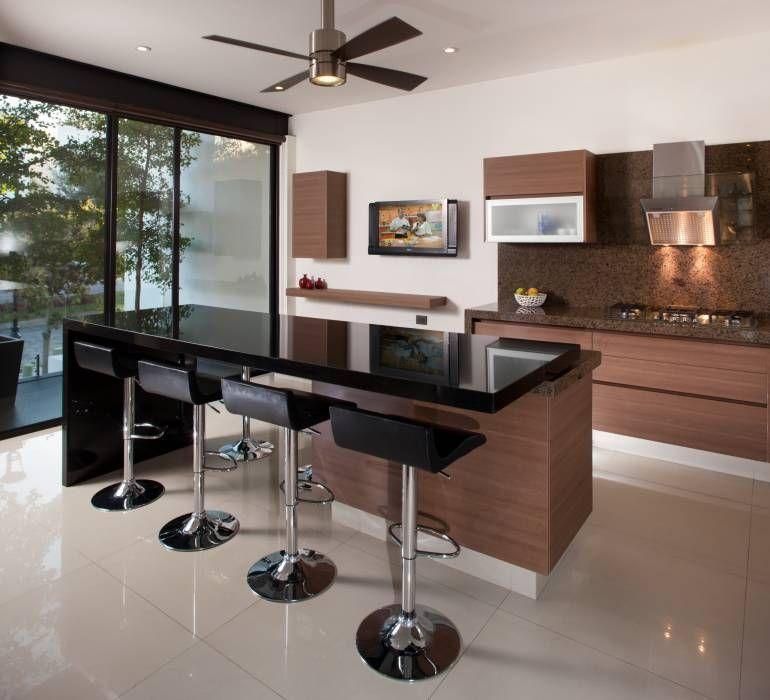 Ideas, imágenes y decoración de hogares Arquitectos, Moderno y Estilo - muebles para cocina de madera