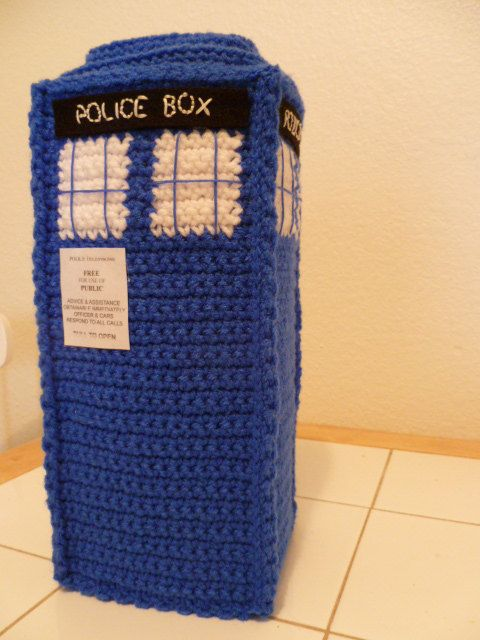 Crochet TARDIS - Doctor Who - PDF Pattern - Instant Download ...