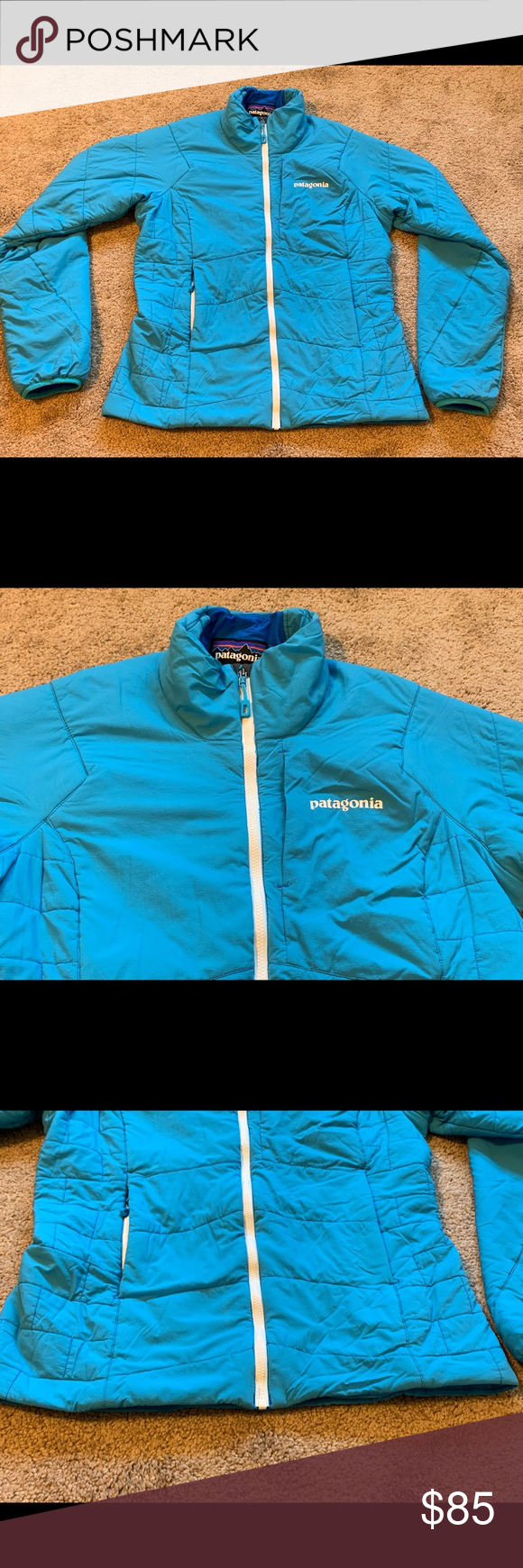 Women's Patagonia Nano Air Insulated Jacket Small Awesome