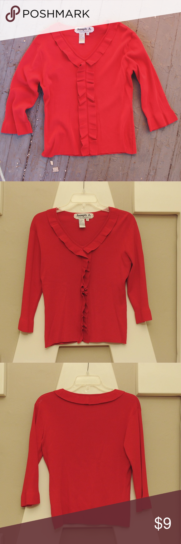✨SOLD✨Pretty Red Sweater | Red sweaters, Scoop neck and ...