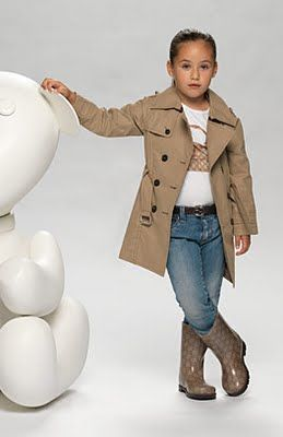 Luxury Italian status brand Gucci has launched an Autumn Winter 2011-2012 collection of clothes for children ages 2 to 8.