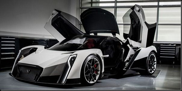 Future Technology Concept The Allelectric Hyper Car Dendrobium - Hyper fast cars