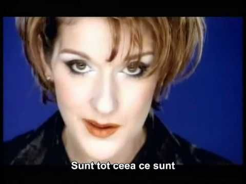 Celine Dion Because You Love Me Subtitrare Romana Mp4 Because I Love You Celine Dion Love Songs