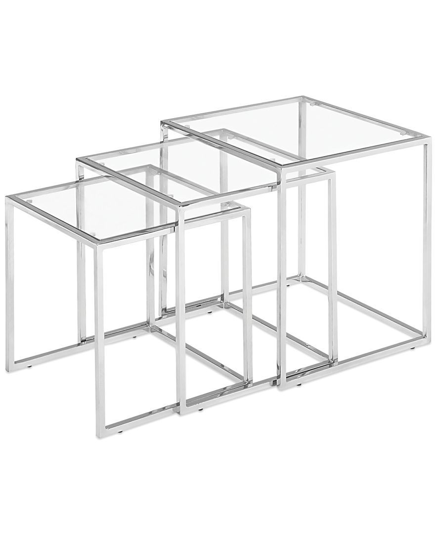 Glass Nesting Tables Heather Glass Nesting Tables Quick Ship Products Table