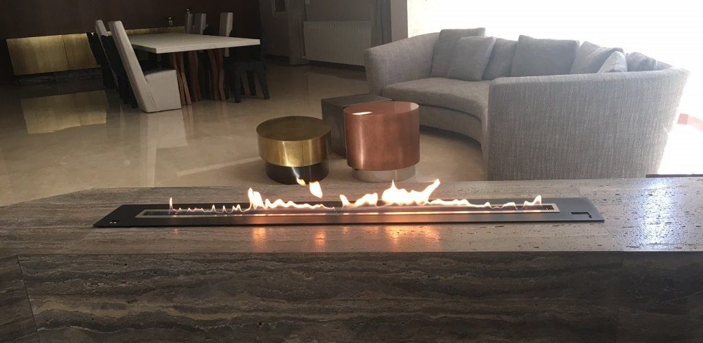 Xxl Ethanol Burner Insert With Automatic Electronic Security Afire Ethanol Fireplace Fireplace Inserts Gas Fireplace