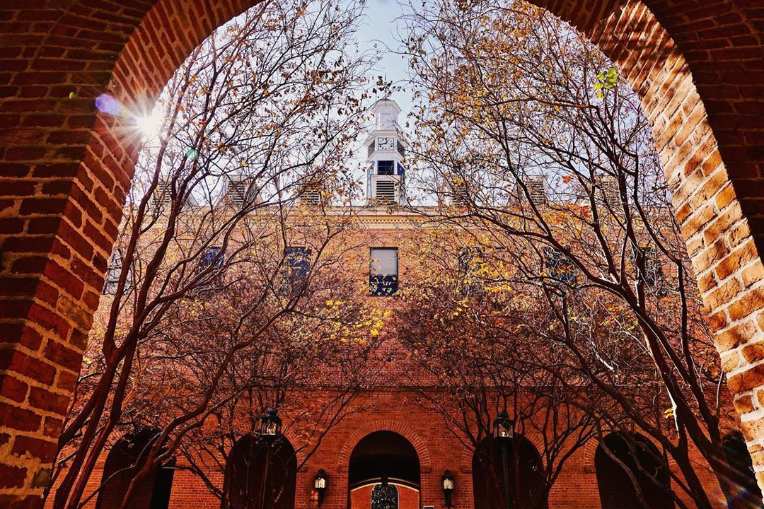 Prettiest college campuses in autumn Most beautiful