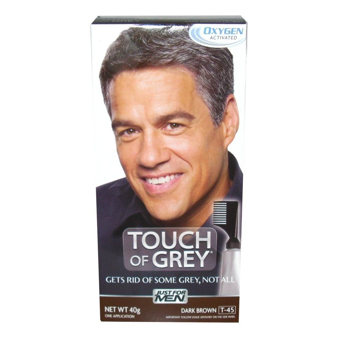 Just For Men Touch Of Grey Dark Brown-Grey T-45 40g >>> Be sure to ...