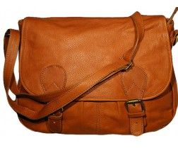 b138cf5df2 Sac cartable en cuir marron camel | Handmade Leather | Bags, Satchel ...