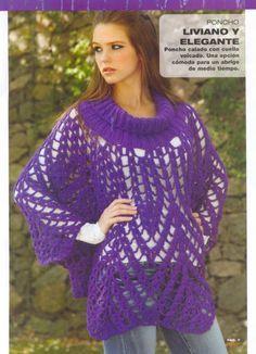 Delicadezas en crochet Gabriela: Abrigos paso a paso