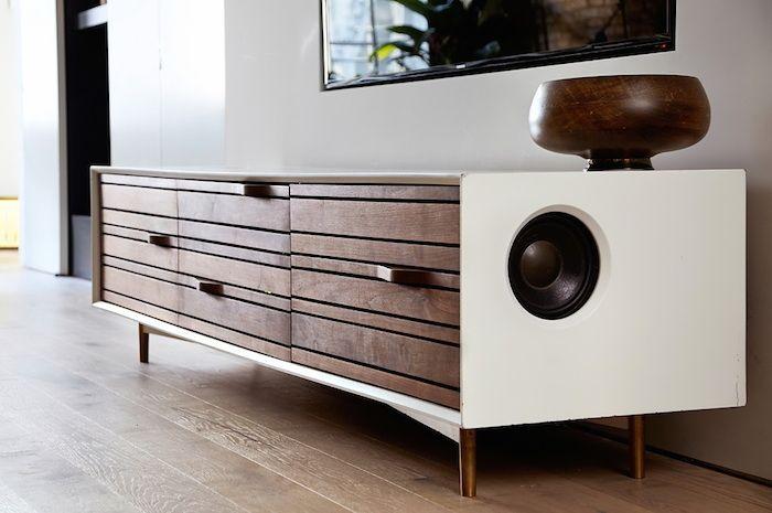 walnut speaker cabinet | photo laura moss