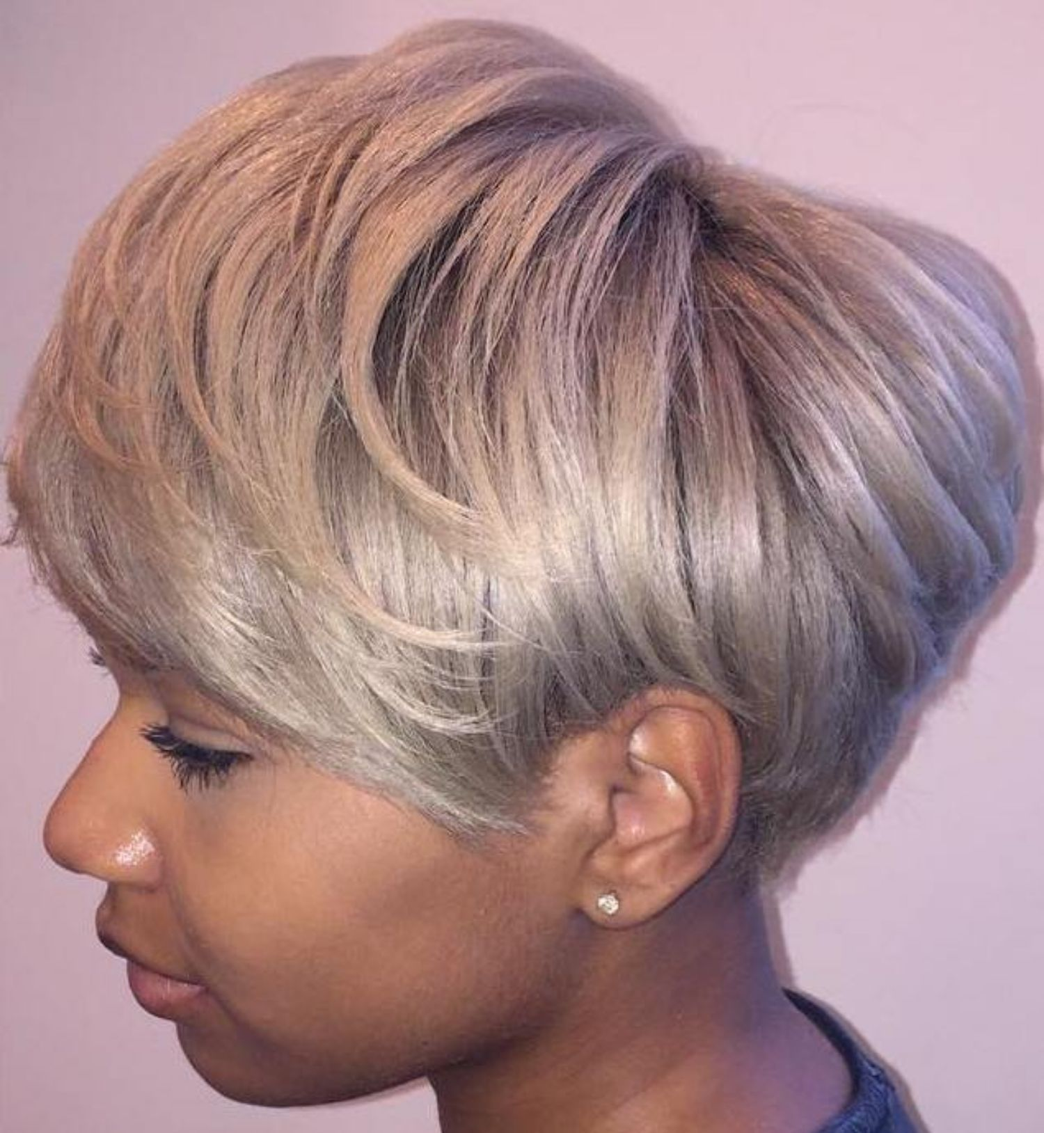 great short hairstyles for black women hair styles pinterest